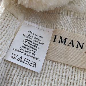 imani Collective Bedding - Imani Collective woven cotton blanket